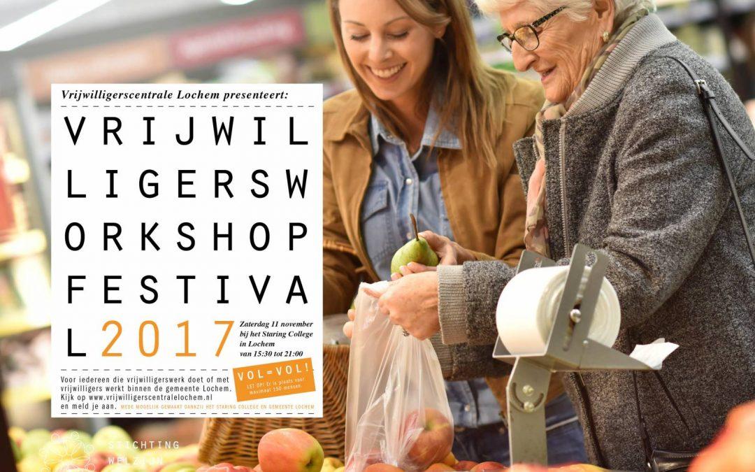Vrijwilligers workshop festival