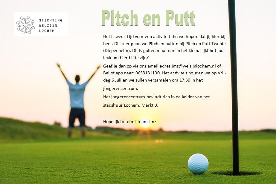 Uitje Jonge Mantelzorgers: Pitch en Put