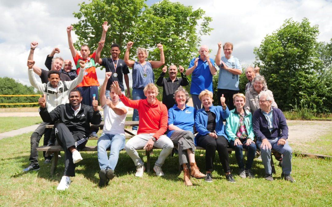 Sportief plezier tijdens Sportdag bij korfbalvereniging 't Overschotje