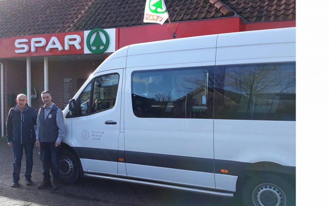 De boodschappenbus ook voor Harfsen en omgeving
