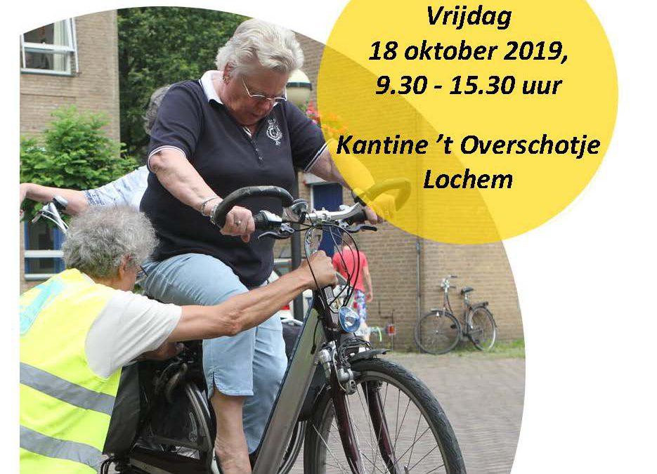 Fietsinformatiedag, voor alle actieve, oudere fietsers