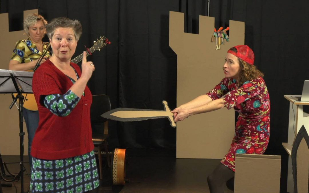 Online muzikale voorstelling: Die andere ouders doen ook maar wat