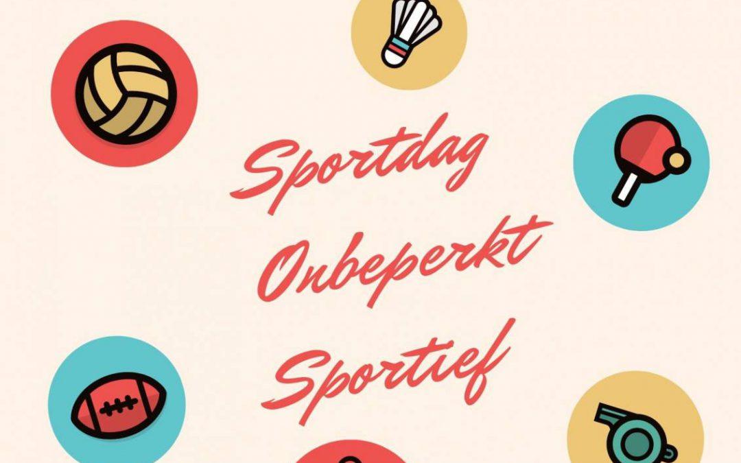 Sportdag Onbeperkt Sportief 22 september 2021