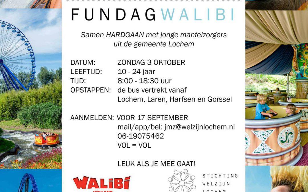 Fundag Walibi voor Jonge Mantelzorgers in de gemeente Lochem