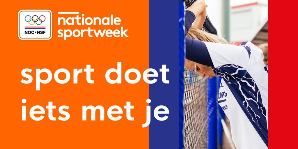 Sportraad Lochem doet mee aan de NOC*NSF Nationale Sportweek 2021